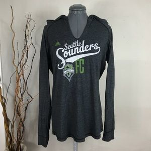 🍂Adidas Seattle Sounders Soccer Sweatshirt